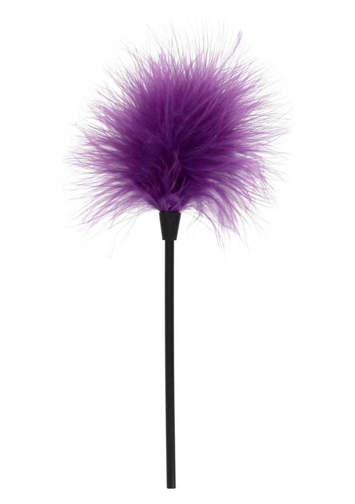 Pěříčko na šimrání Sexy Feather Tickler purple - Toy Joy