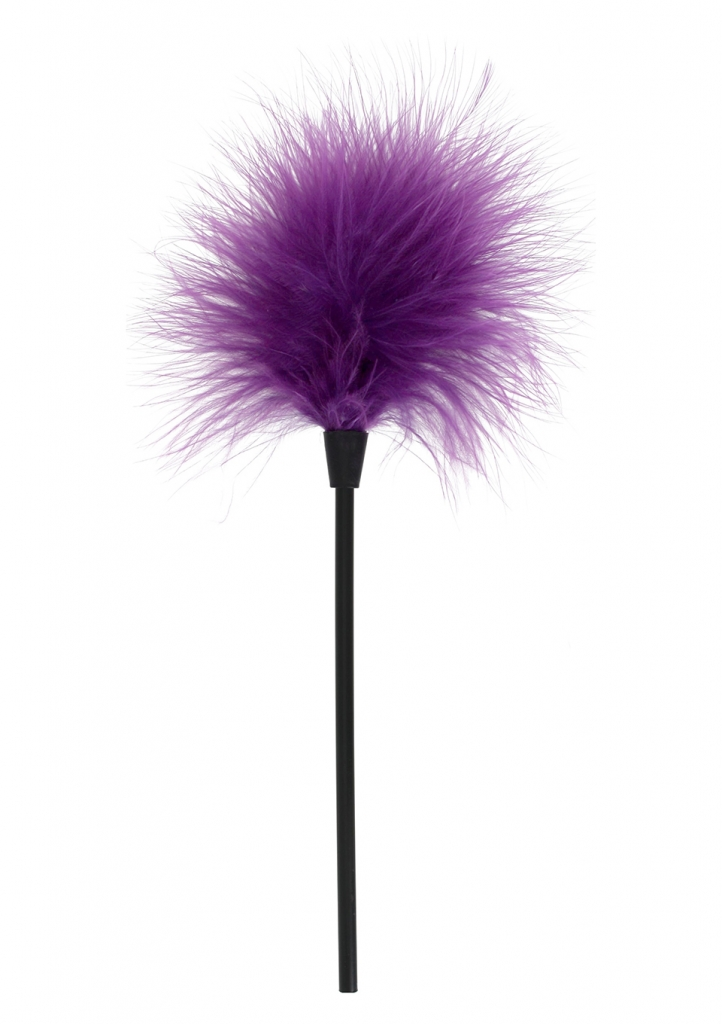Pěříčko na šimrání Sexy Feather Tickler purple - Toy Joy