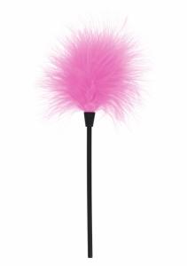 Pěříčko na šimrání Sexy Feather Tickler pink - Toy Joy