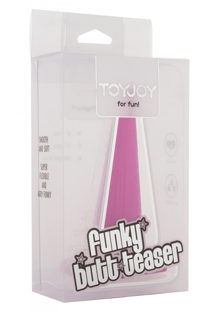 Anální kolík Funky Butt Teaser violet - Toy Joy, fotografie 1/1