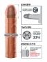 Perfect 2 Extension s prodloužením (5,1 cm) na špičce, zatímco ultra-realistické tělo přidá 33% obvodu vašeho penisu