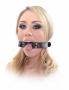 Robustní kruhový roubík rozevře čelisti vaší partnerky, která nebude schopna mluvit, ale její ústa zůstanou otevřená a snadno přístupná!