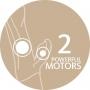 Vibrátor Fun Factory Bi Stronic Fusion pohání dva výkonné motorky.