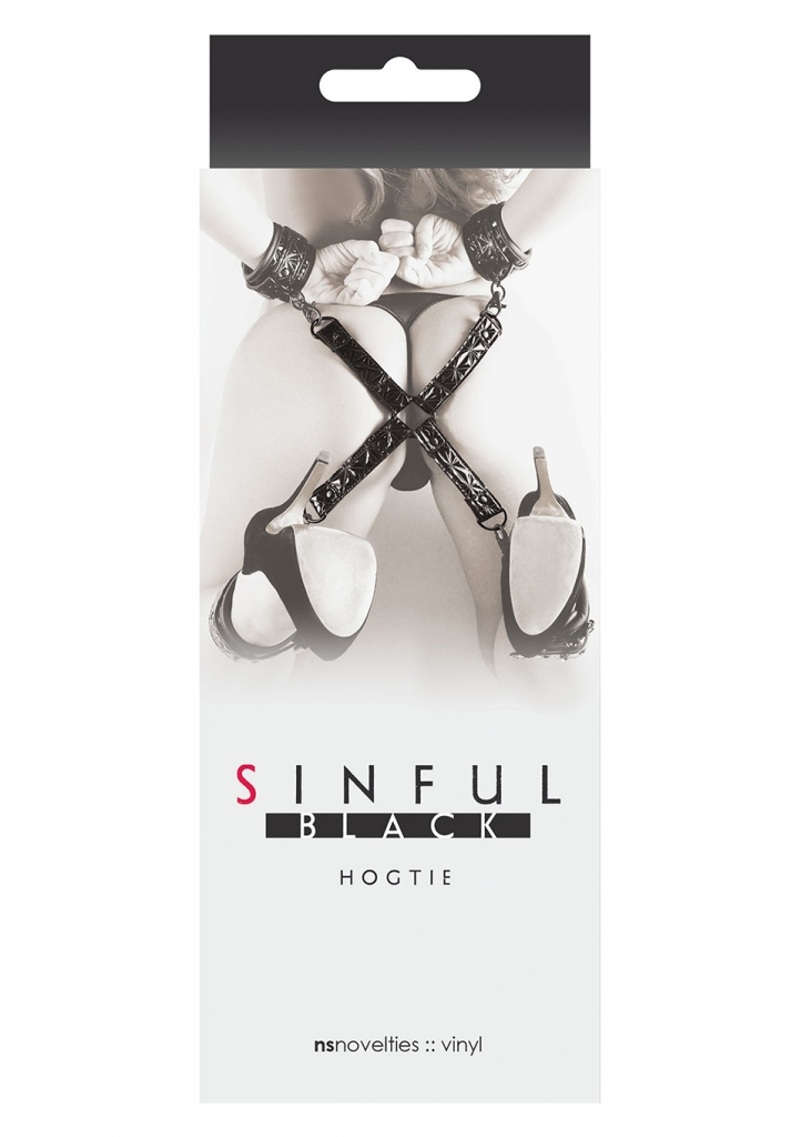 Sinful Hogtie black - NS Novelties