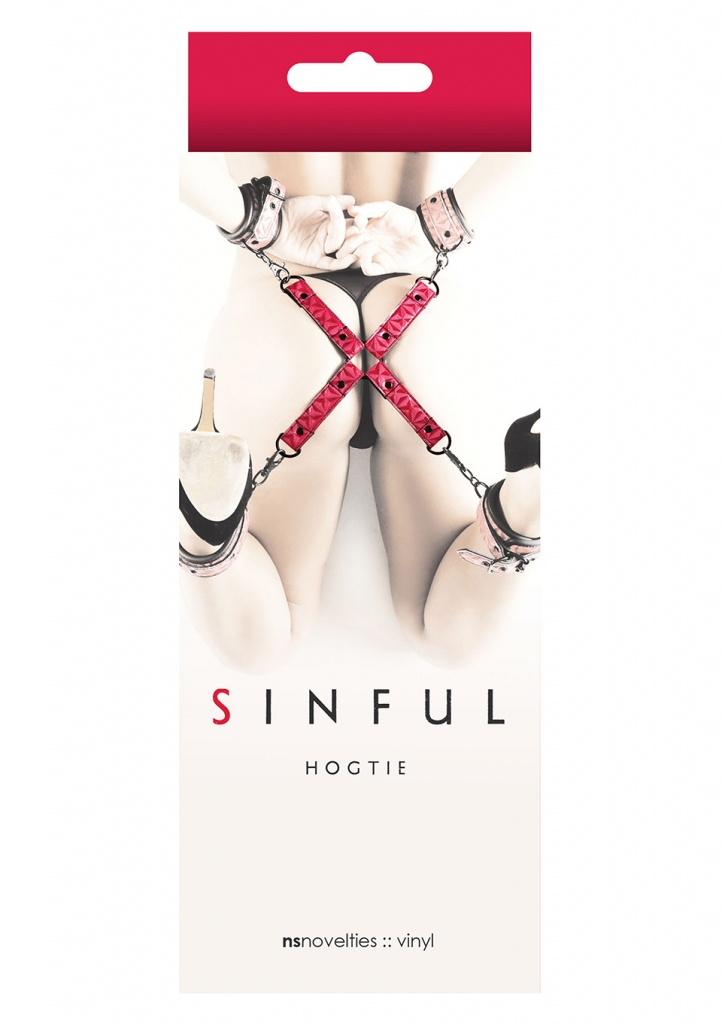 Sinful Hogtie pink - NS Novelties