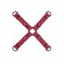 Sinful Hogtie jsou speciální popruhy pro spoutání končetin - do kozelce. Jsou kompatibilní se Sinful pouty pro zápěstí i kotníky  (prodávají se samostatně).