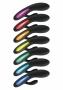 Při každém zvoleném vibračním programu se elegantní pozlacený bok vibrátoru rozsvítí jinou barvou. Pokaždé velmi příjemnou, navozující úžasnou intimní atmosféru...