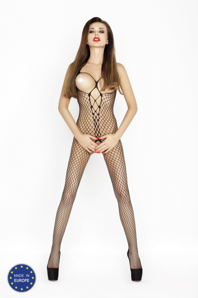 Bodystocking Passion BS014 black