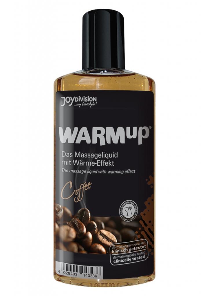 Masážní olej WARMup coffee 150ml - JOYDIVISION