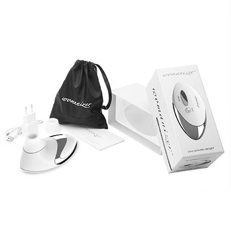 Womanizer Pro W500 White masážní strojek, fotografie 3/3