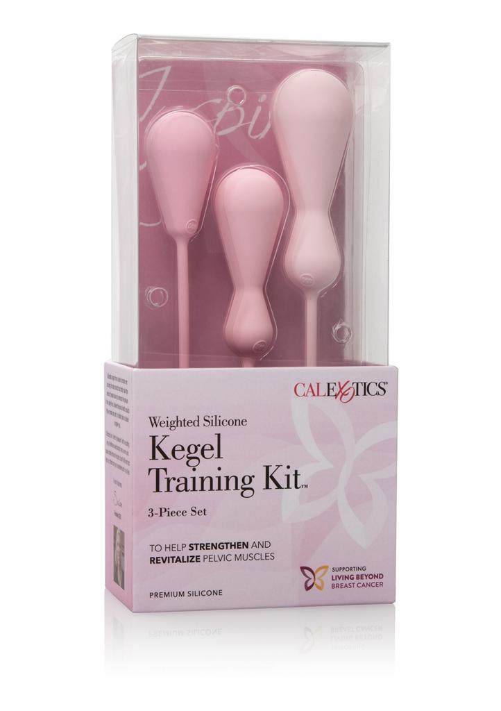 Inspire Kegel Training Kit je sada luxusních silikonových venušiných kuliček/vajíček pro ženy, které napomáhají posílit a revitalizovat svaly pánevního dna.  Obsahuje 3 kusy vaginálních kuliček/vajíč…