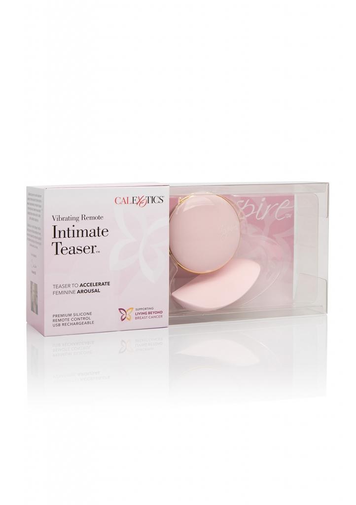 Inspire Vibrating Intimate Teaser je luxusní stimulátor klitorisu s dálkovým ovládáním, vyrobený z prémiového silikonu. Byl vyvinut pro účinné masáže klitorisu pro urychlení ženského vzrušení.