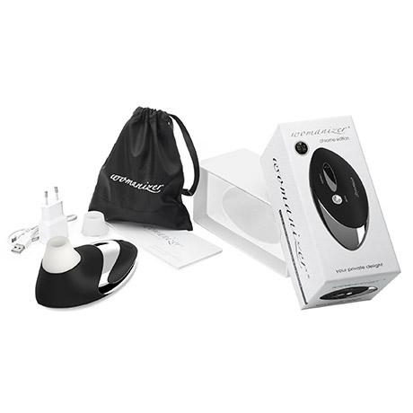 Womanizer Pro W500 Black-Chrom masážní strojek, fotografie 5/3