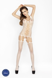 Bodystocking Passion BS013 white