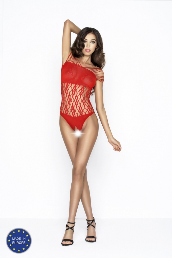 Bodystocking Passion BS035 red