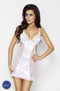 Erotická košilka Wilma chemise white Passion