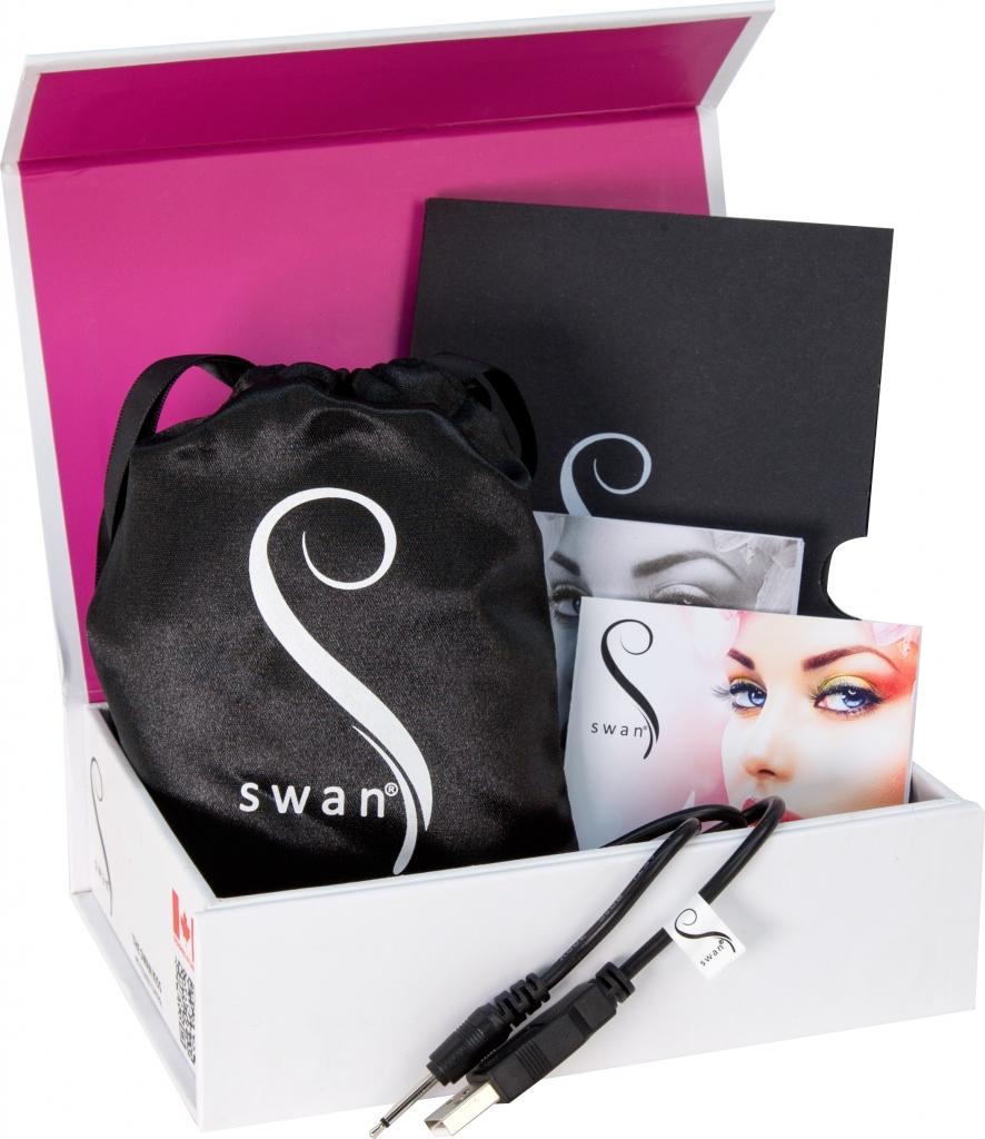 Pro vaše pohodlí jsou vibrátory Swan Squeeze Control dobíjecí pomocí přiloženého USB kabelu a jsou dodávané s luxusním cestovním/skladovacím pouzdrem.