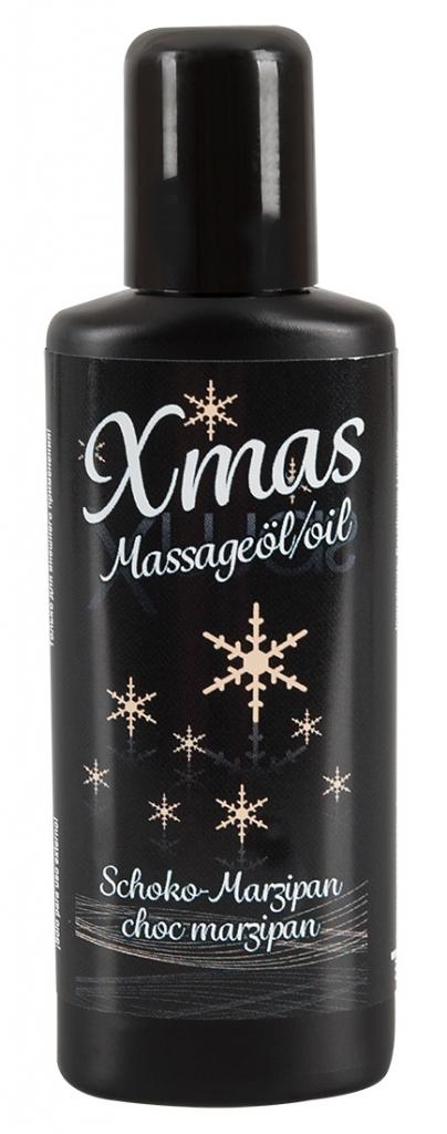 Vánoční masážní olej Čokoláda-marcipán  50 ml