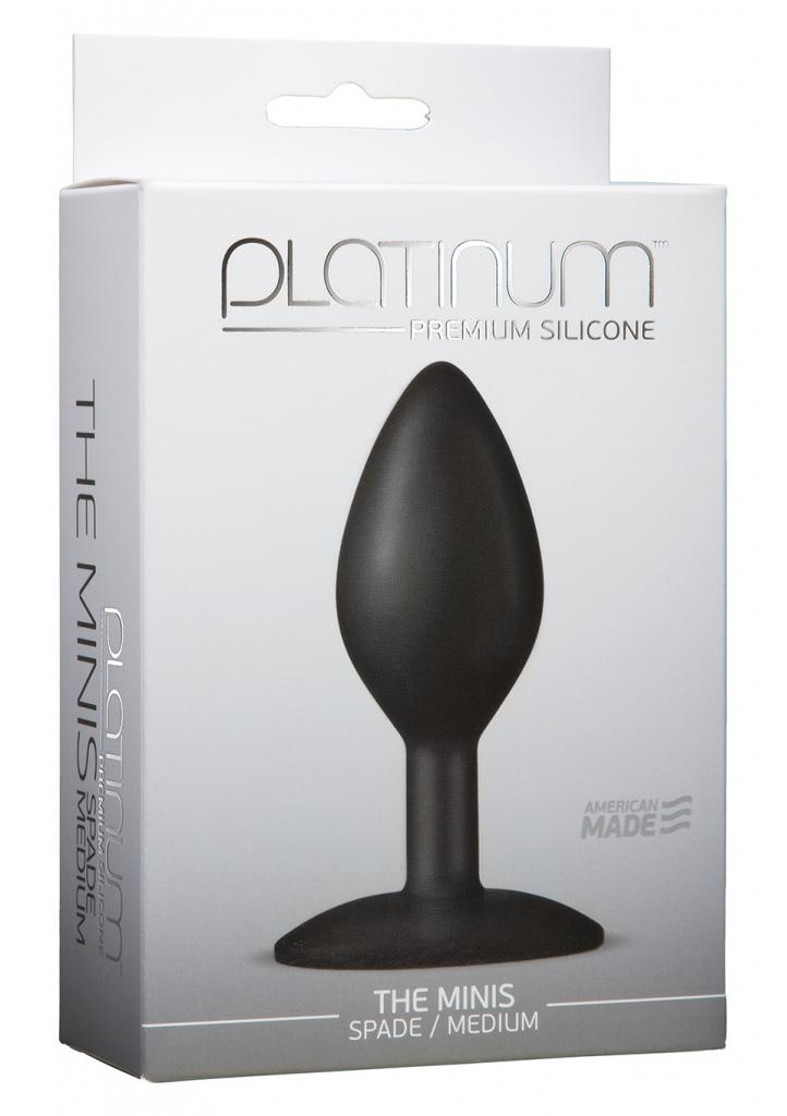 The Spade Mini Medium je ručně vyrobený a luxusní anální kolík, který Vám zcela jistě přinese dokonalé uspokojení.