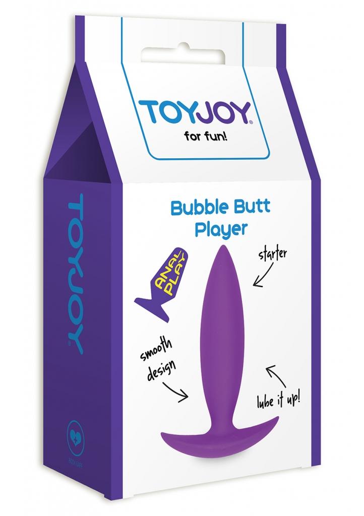 Bubble Butt Player Starter je hladký, vysoce kvalitní anální kolík z kolekce TOYJOY Classics