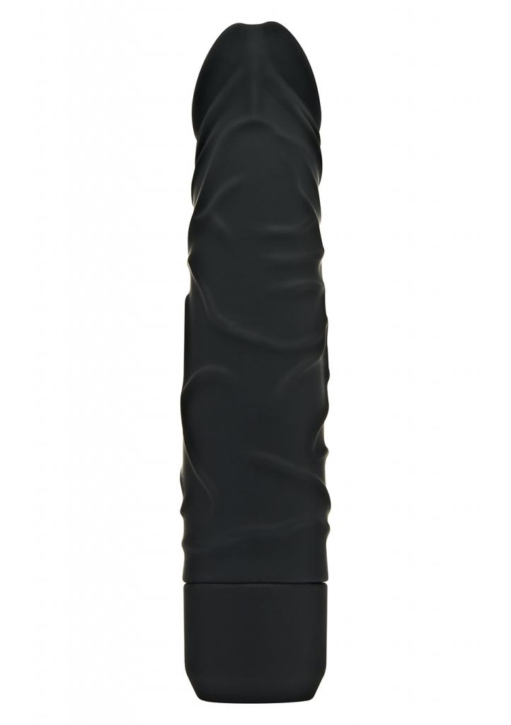 Realistický silikonový vibrátor Classic Original black - Toy Joy, fotografie 3/2
