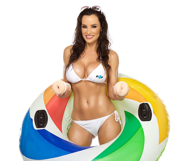 Masturbator Fleshlight Girls Lisa Ann Barracuda, fotografie 3/6