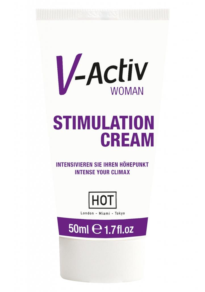 V-Activ Stimulation Cream Women - HOT