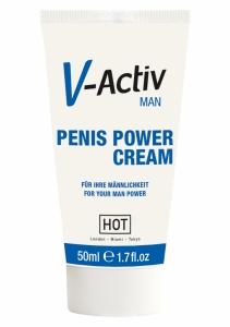 Afrodiziakum V-Activ Penis Power Cream - HOT