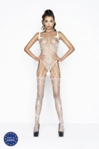 Bodystocking Passion BS034 white