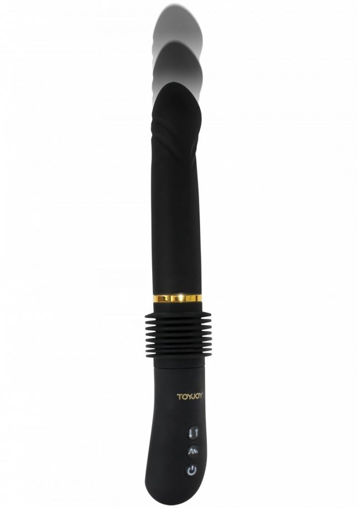 Vibrátor přirážecí Magnum Opus Thruster ToyJoy Designer Edition