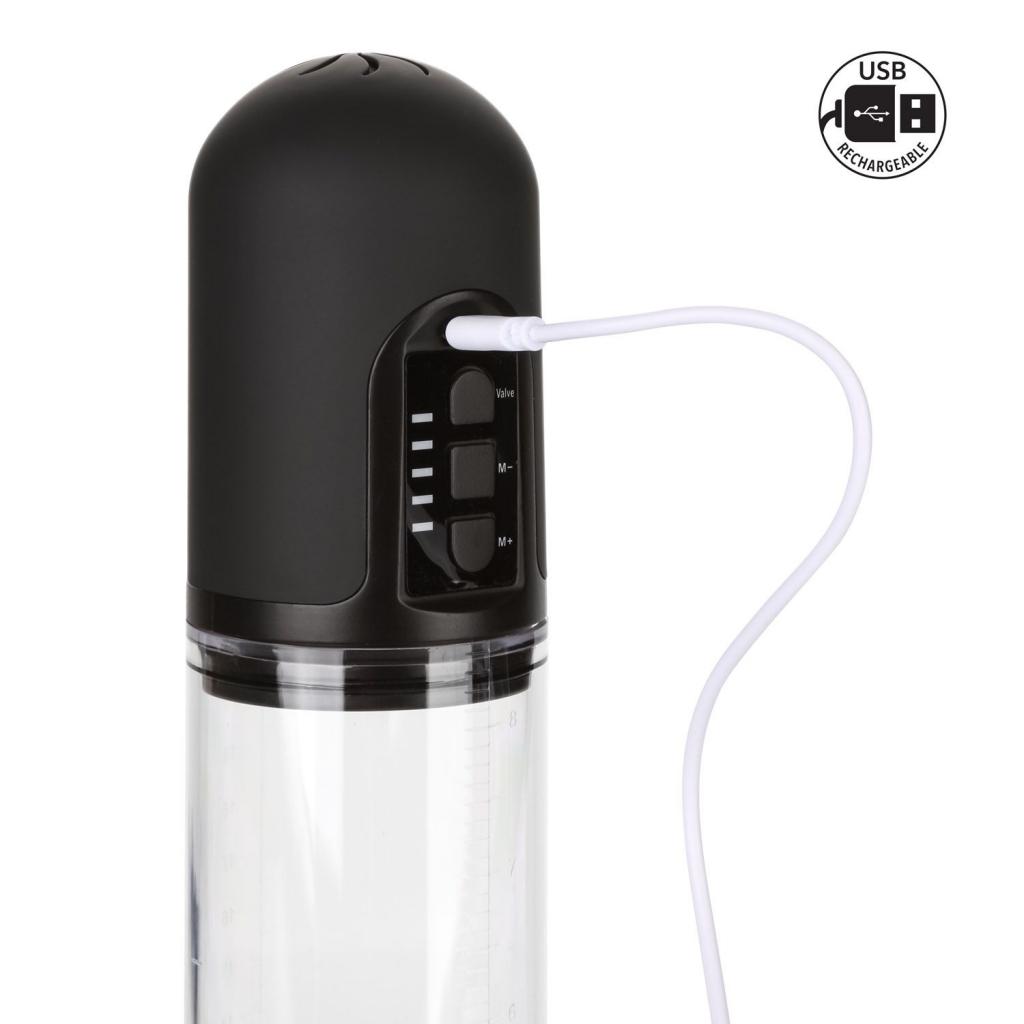 Stamina Pump je elektrická, plně automatická, vakuová pumpa na penis