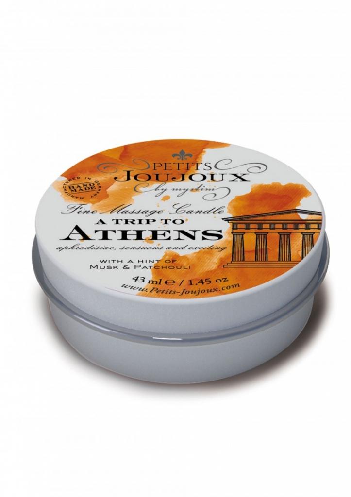 Petit Joujoux Athens 43ml masážní svíčka - Mystim