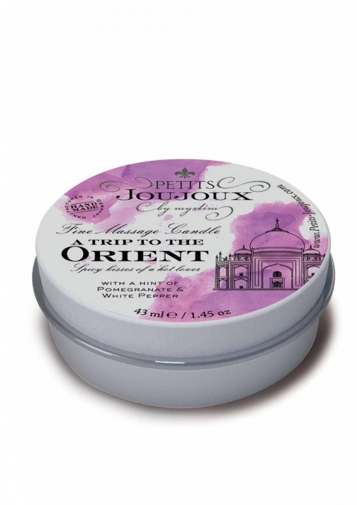 Petit Joujoux Orient 43ml masážní svíčka - Mystim