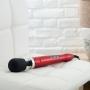 Luxusní, velmi výkonná vibrační masážní hlavice, speciální edice v provedení slitiny hliníku / titanu.