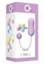Velmi výkonné vibrační vajíčko z půvabné kolekce Cute od Toy Joy. Ohromí Vás svoji krásou, ale i silnými a přesto tichými vibracemi.