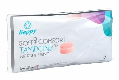 Beppy Classic Wet Tampony 4ks