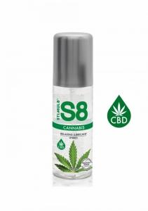 S8 Cannabis Hybridní Lubrikant 125ml - Stimul8