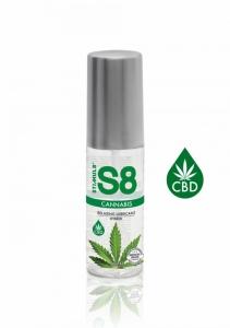 S8 Cannabis Hybridní Lubrikant 50ml - Stimul8