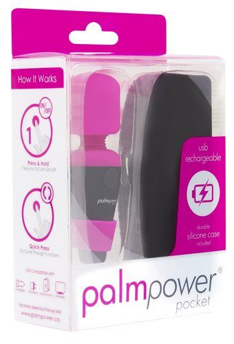Palmpower Pocket Massager mini masážní hlavice