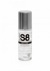 S8 Premium Silicone Lubrikant 125ml - Stimul8