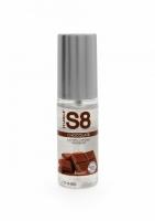 S8 Lubrikant na vodní bázi s příchutí čokoláda 50ml - Stimul8