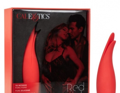 Red Hot Sizzle Vibrátor - California Exotic Novelties