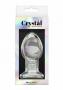 Anální kolík Crystal je vyrobený ze 100% ručně foukaného prvotřídního borosilikátového skla té nejvyšší kvality