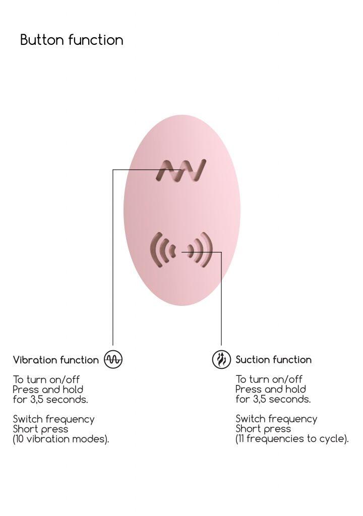 Shots - Irresistible Desirable pink vibrátor se stimulátorem klitorisu
