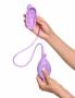 Přitiskněte a podržte sací pohár na suché hladké pokožce. Stlačujte pumpičku (balónek) pro vytvoření podtlaku a zahájení sání.