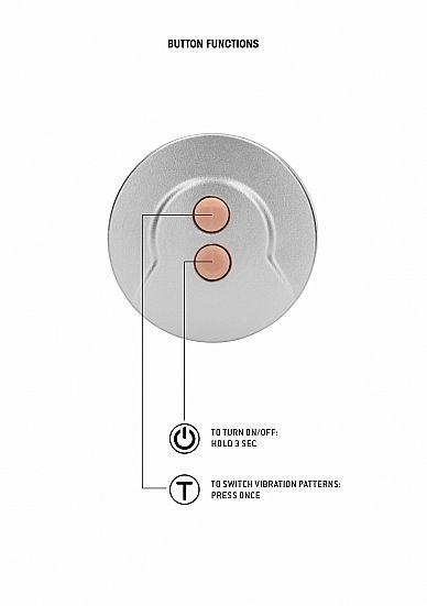 Shots - RealRock Realistic Vibrating Dildo with Balls 17cm Flesh vibrátor