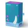 Satisfyer Curvy 2+ White stimulátor klitorisu, fotografie 5/5