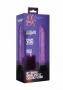 Shots 8 Inch Thin Realistic Dildo Vibe Purple vibrátor, fotografie 5/4
