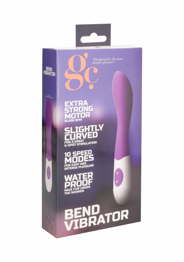 SHOTS GC BEND Purple vibrátor