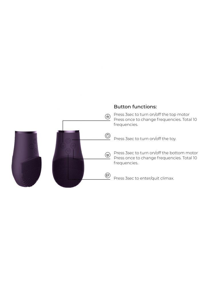 Shots Switch Pleasure Kit 1 purple sada vibrátorů